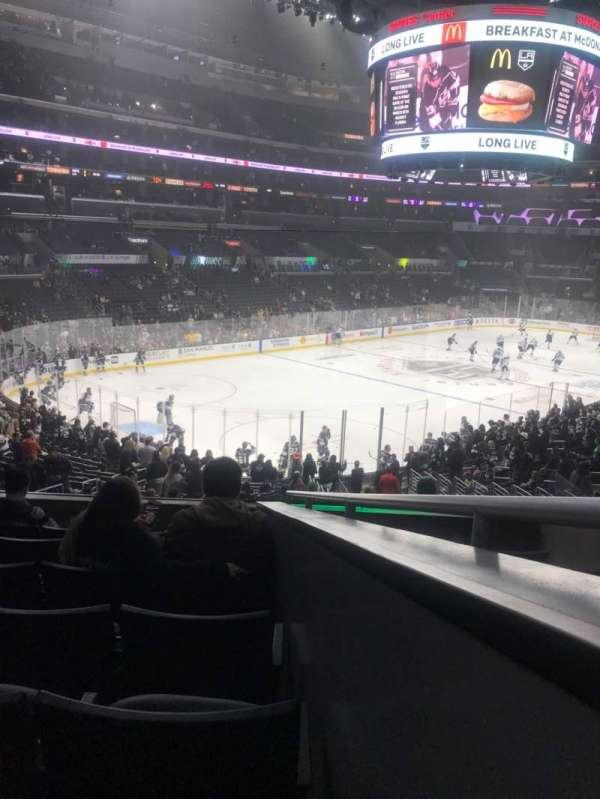 Staples Center, section: 205, row: 7, seat: 1
