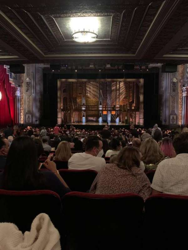 Hollywood Pantages Theatre, section: Orchestra C, row: TT, seat: 106