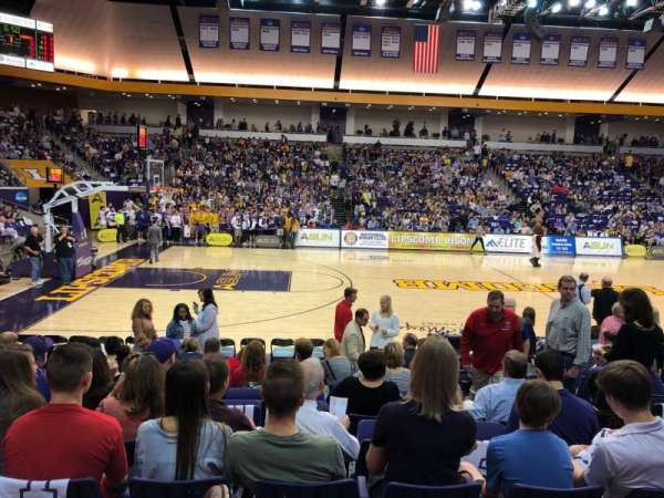 Allen Arena, section: 103, row: K, seat: 4