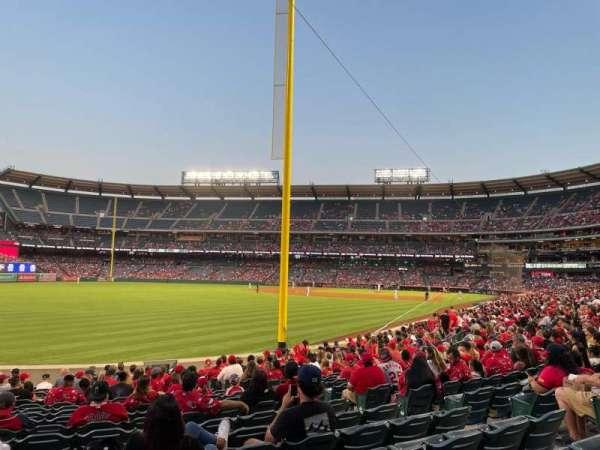 Angel Stadium, section: 102, row: S, seat: 15