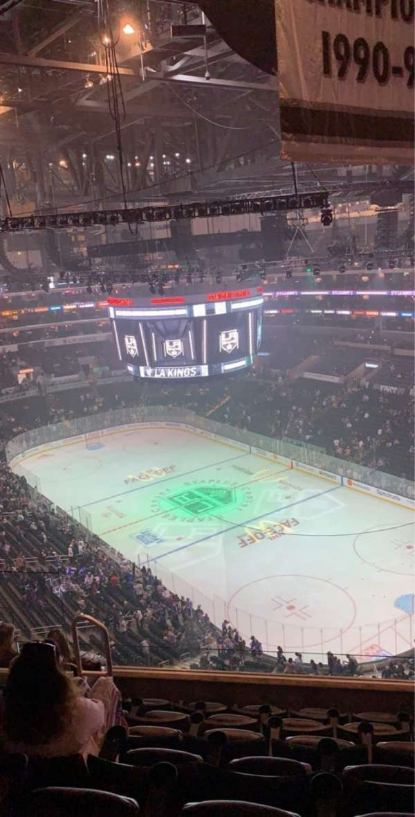 Staples Center, section: 330, row: 7