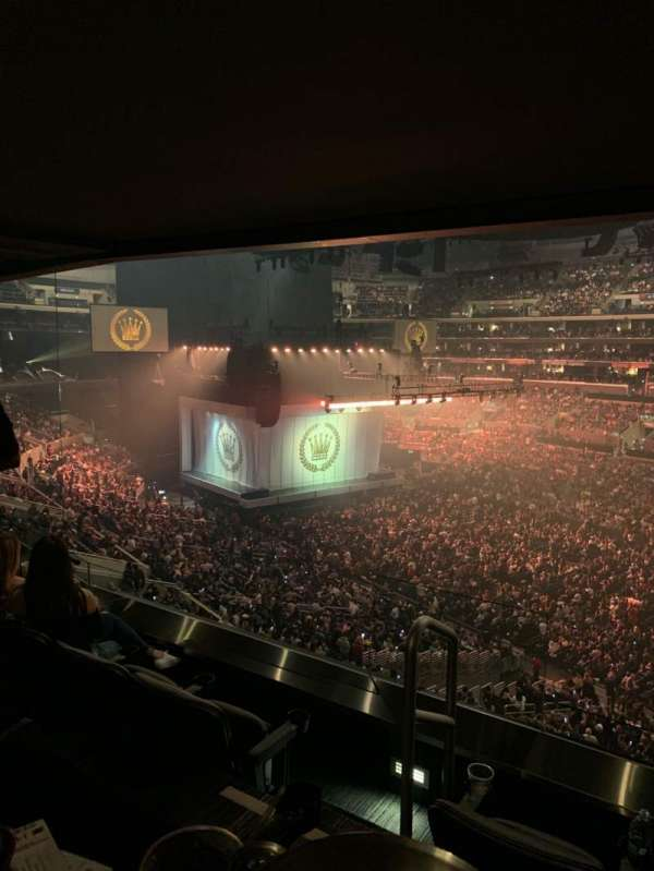 Staples Center, section: Suite B43, row: SRO, seat: 1