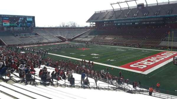 High Point Solutions Stadium, section: 121, row: 38, seat: 14