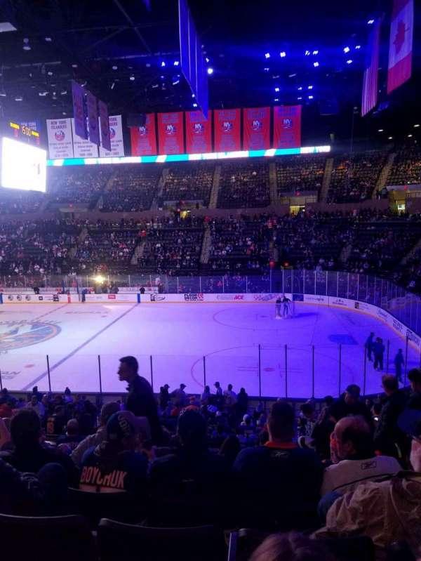 Nassau Veterans Memorial Coliseum, section: 101, row: 10, seat: 1