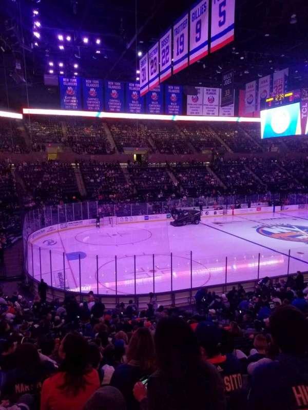 Nassau Veterans Memorial Coliseum, section: 106, row: 10, seat: 1