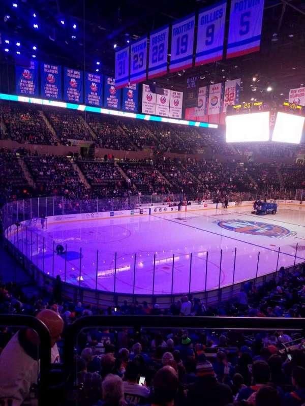 Nassau Veterans Memorial Coliseum, section: 107, row: 10, seat: 1