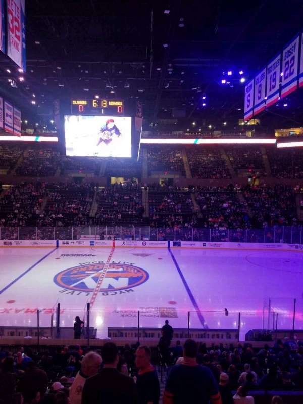 Nassau Veterans Memorial Coliseum, section: 116, row: 10, seat: 1