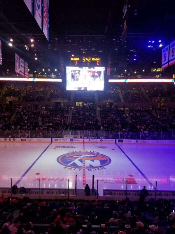 Nassau Veterans Memorial Coliseum, section: 117, row: 8, seat: 8