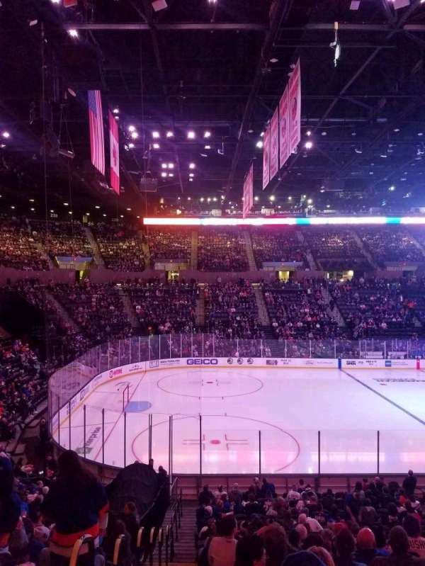 Nassau Veterans Memorial Coliseum, section: 119, row: 10, seat: 1