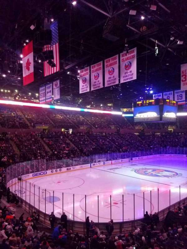 Nassau Veterans Memorial Coliseum, section: 121, row: 10, seat: 5