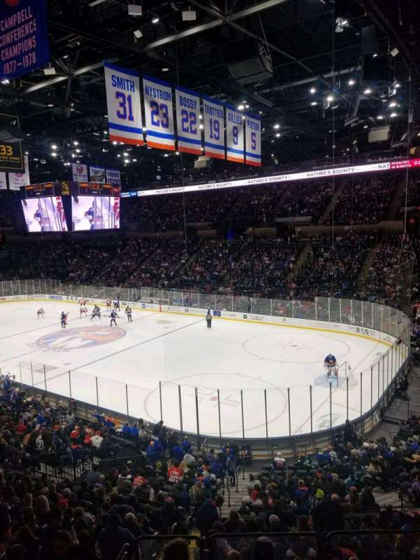 Nassau Veterans Memorial Coliseum, section: 218, row: 1, seat: 10
