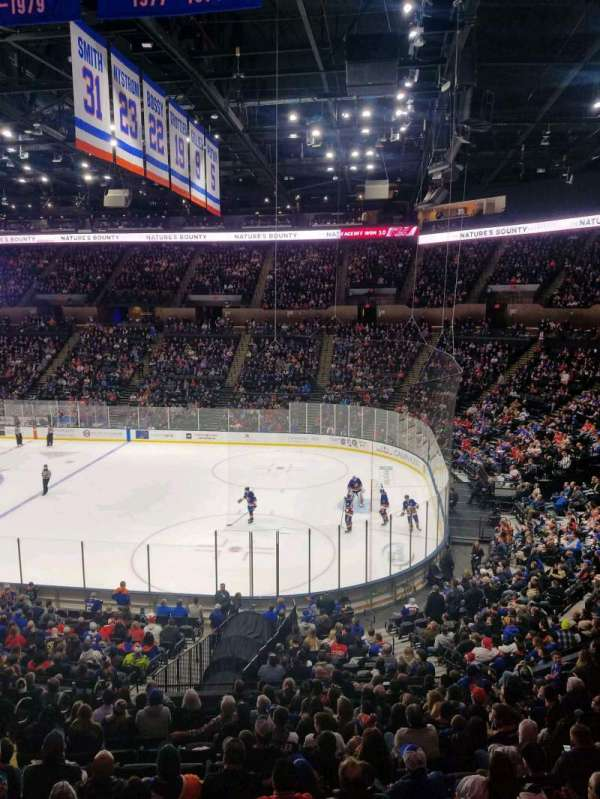 Nassau Veterans Memorial Coliseum, section: 219, row: 1, seat: 1