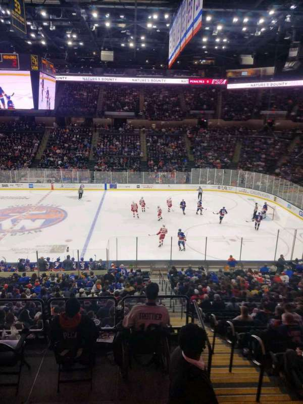 Nassau Veterans Memorial Coliseum, section: 221, row: 1, seat: 1