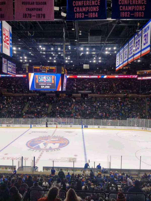 Nassau Veterans Memorial Coliseum, section: 222, row: 1, seat: 10