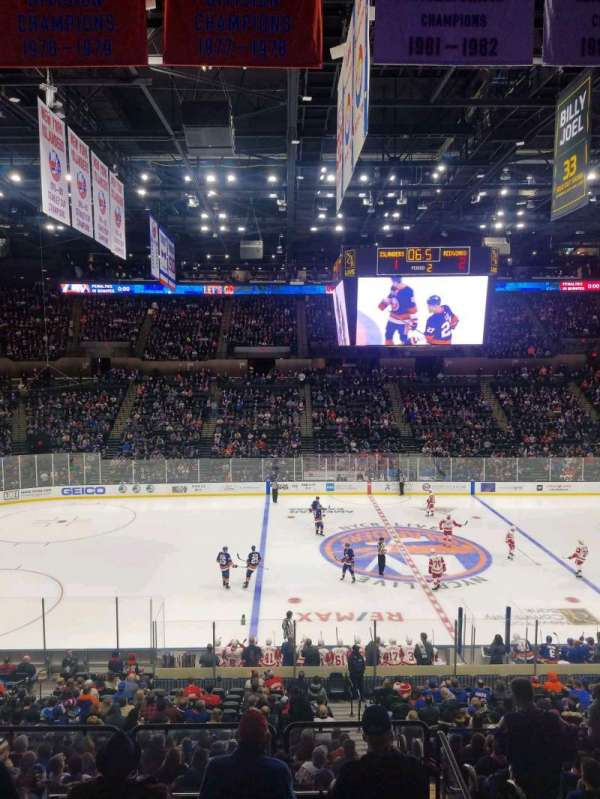 Nassau Veterans Memorial Coliseum, section: 223, row: 1, seat: 1