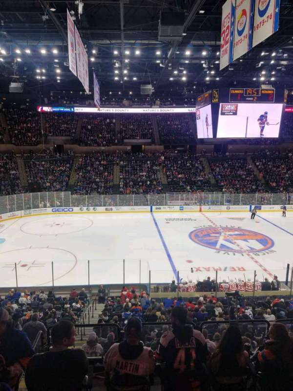 Nassau Veterans Memorial Coliseum, section: 224, row: 1, seat: 1