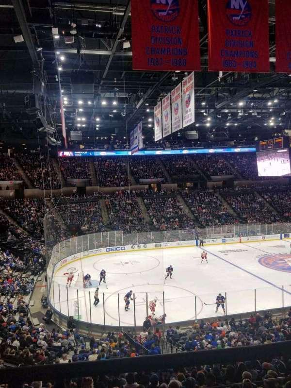 Nassau Veterans Memorial Coliseum, section: 226, row: 1, seat: 1