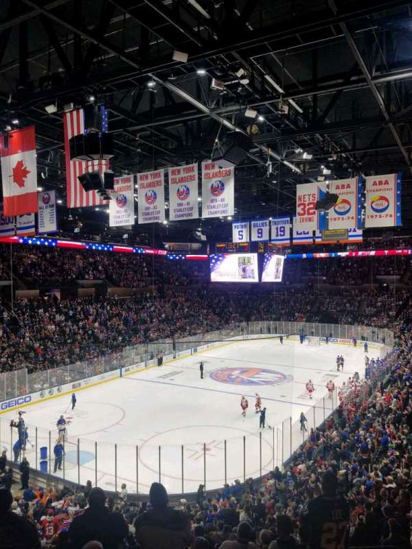 Nassau Veterans Memorial Coliseum, section: 229, row: 1, seat: 1