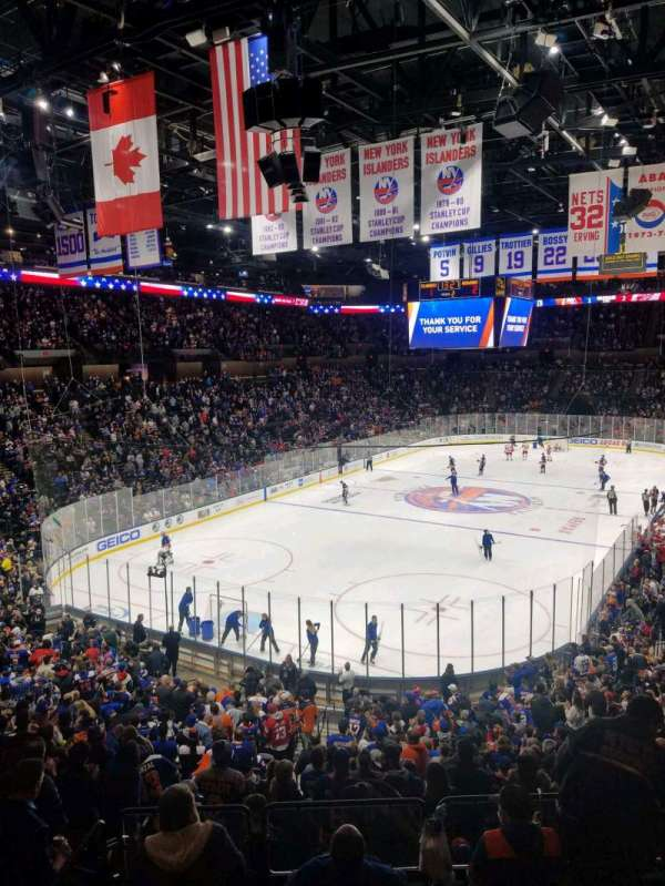 Nassau Veterans Memorial Coliseum, section: 230, row: 1, seat: 1