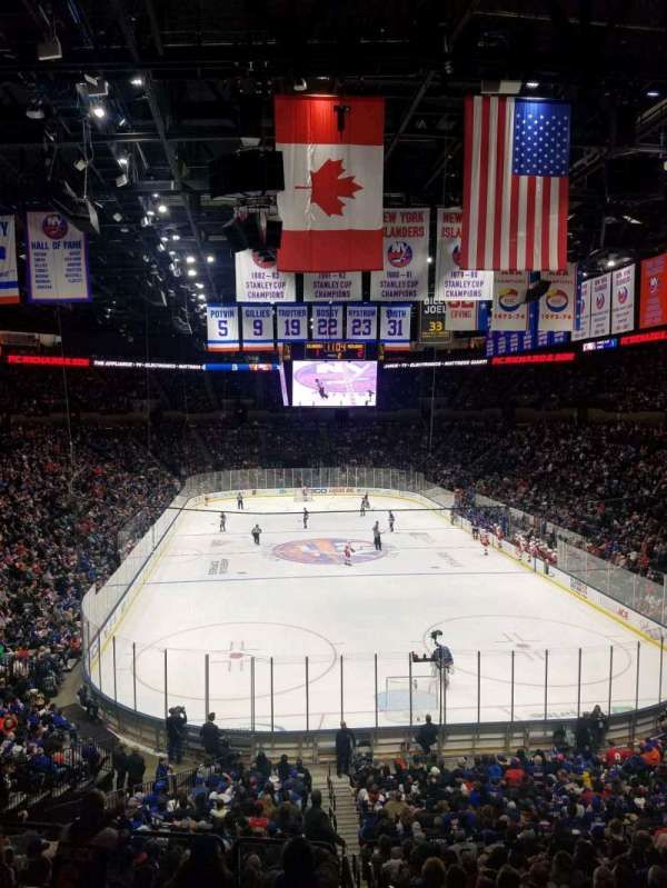 Nassau Veterans Memorial Coliseum, section: 234, row: 1, seat: 1
