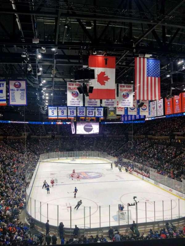 Nassau Veterans Memorial Coliseum, section: 235, row: 1, seat: 1