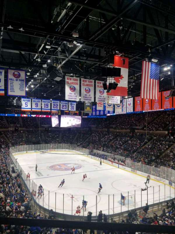 Nassau Veterans Memorial Coliseum, section: 236, row: 1, seat: 1