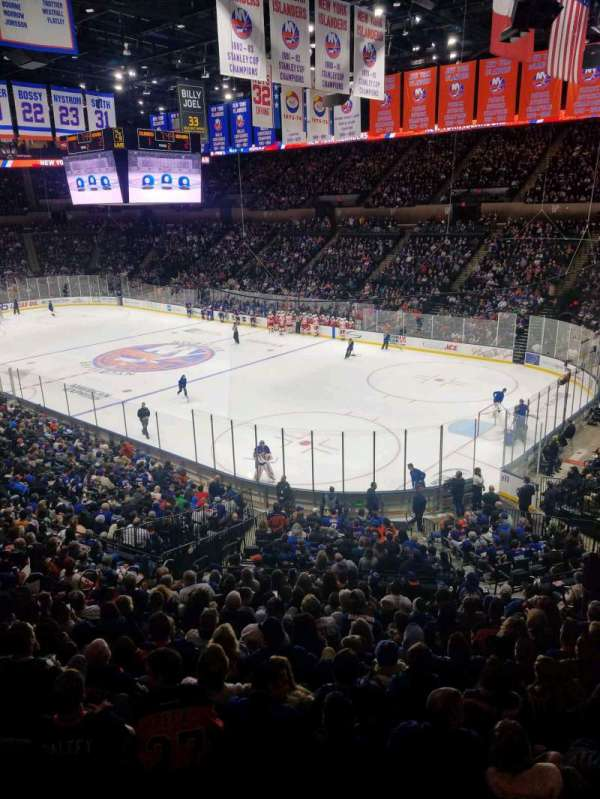 Nassau Veterans Memorial Coliseum, section: 238, row: 1, seat: 1