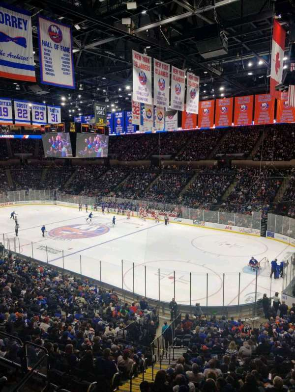 Nassau Veterans Memorial Coliseum, section: 239, row: 1, seat: 1