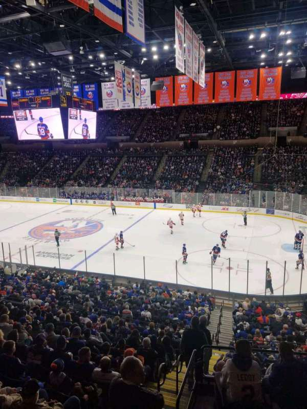 Nassau Veterans Memorial Coliseum, section: 201, row: 1, seat: 1