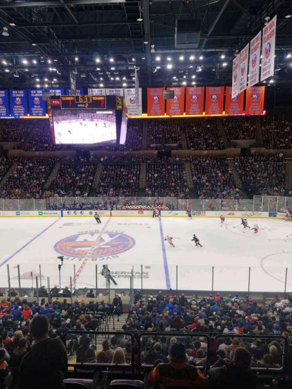 Nassau Veterans Memorial Coliseum, section: 203, row: 1, seat: 1