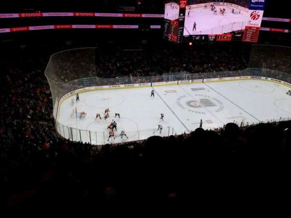 Wells Fargo Center, section: 223, row: 8, seat: 6