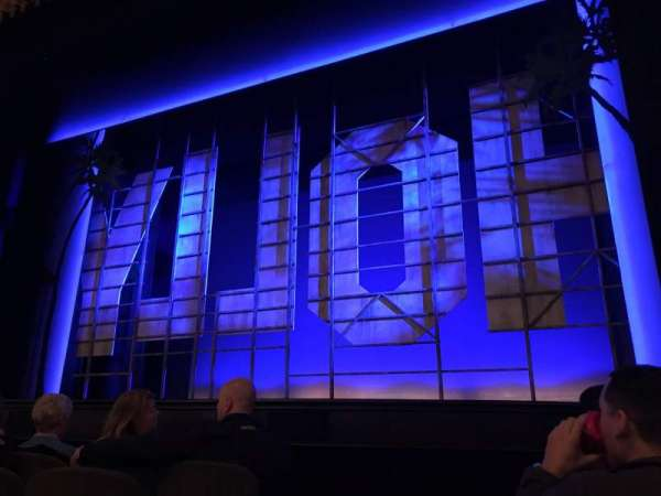 Nederlander Theatre, section: Orchestra R, row: E, seat: 2