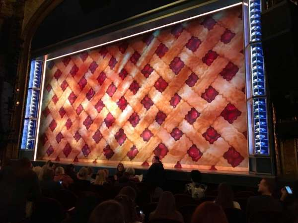 Brooks Atkinson Theatre, section: Orchestra R, row: G, seat: 10