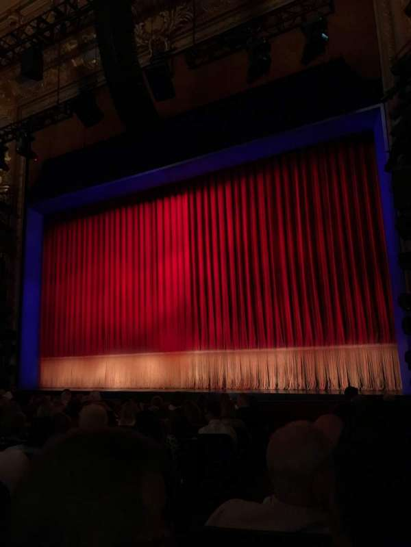 Longacre Theatre, section: Orchestra R, row: L, seat: 3