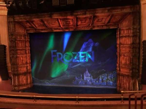St. James Theatre, section: Mezzanine C, row: E, seat: 102