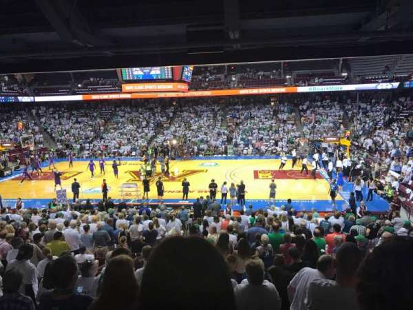 Williams Arena, section: 105, row: 24, seat: 5