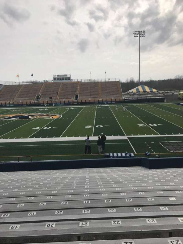 Dix Stadium, section: 3, row: 3, seat: 18