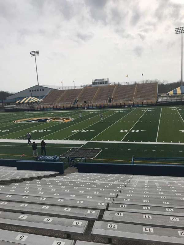 Dix Stadium, section: 2, row: 4, seat: 8
