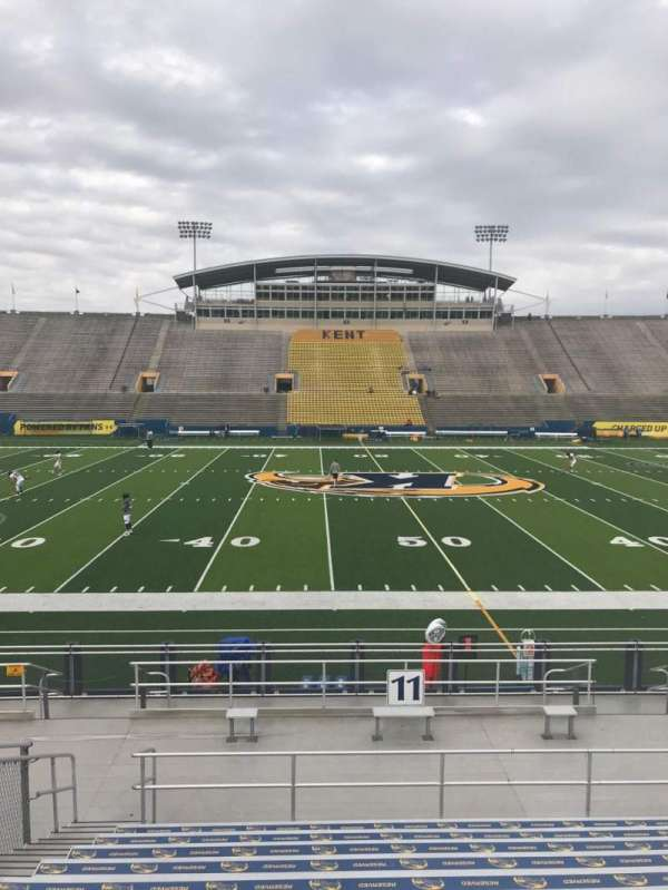 Dix Stadium, section: 11, row: L, seat: 11