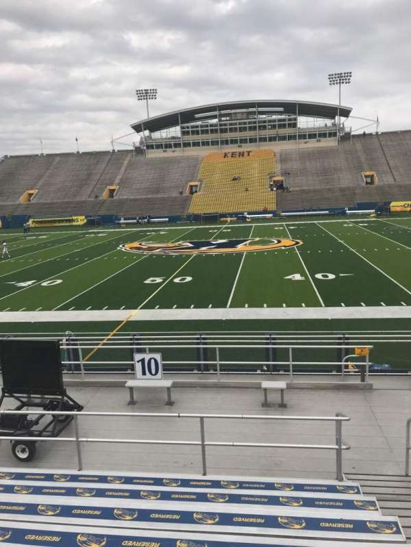 Dix Stadium, section: 10, row: H, seat: 5