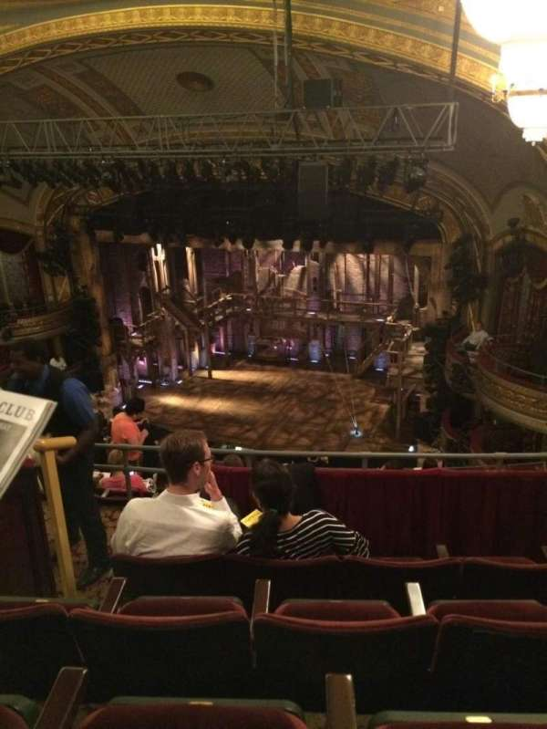 Richard Rodgers Theatre, section: Rear Mezzanine L, row: D, seat: 18