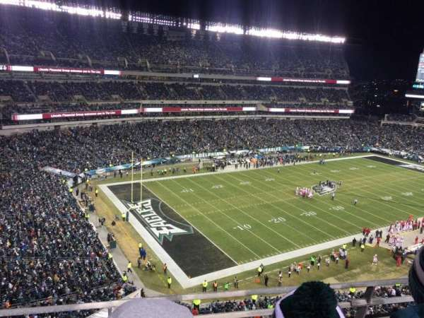 Lincoln Financial Field, section: 219, row: 2