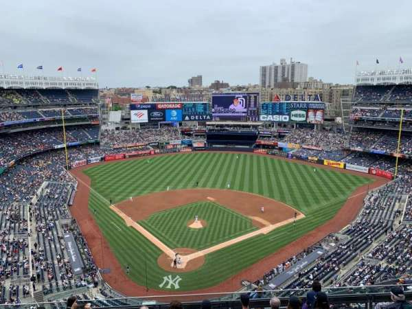 Yankee Stadium, section: 420a, row: 7, seat: 14