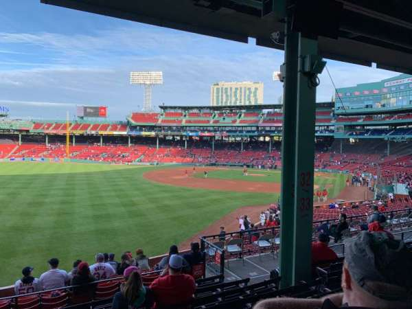 Fenway Park, section: GRANDSTAND 33, row: 8, seat: 7-8