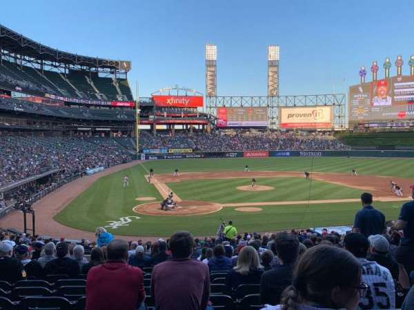 Guaranteed Rate Field, section: 129, row: 30, seat: 6