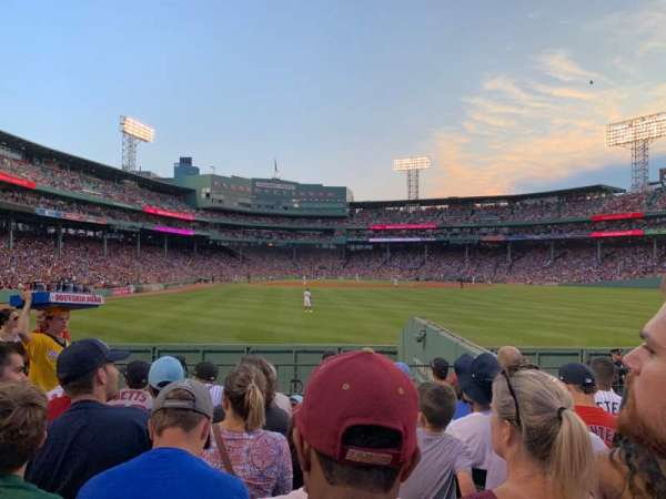 Fenway Park, section: Bleacher 42, row: 8, seat: 4