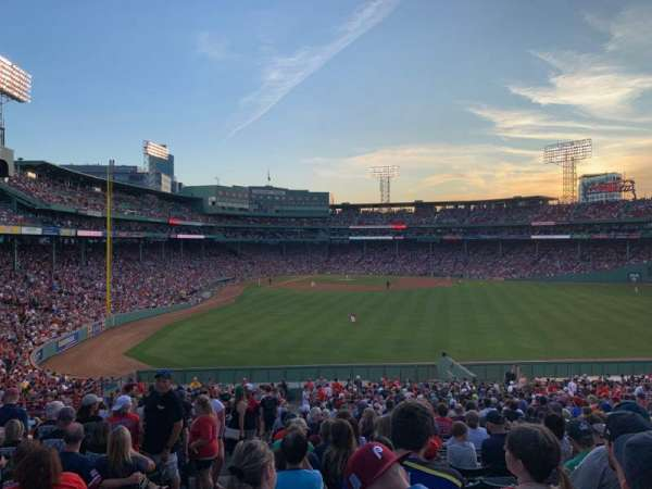 Fenway Park, section: Bleacher 42, row: 38, seat: 25