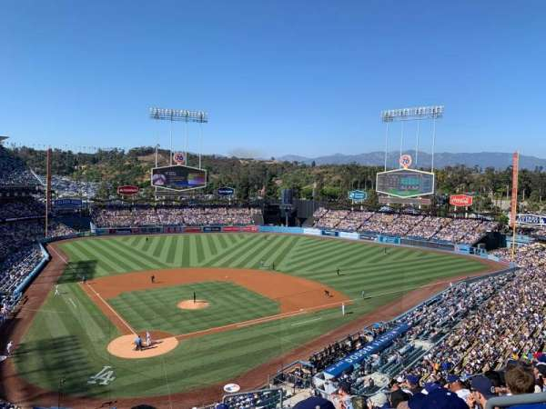 Dodger Stadium, section: 4RS, row: J, seat: 21