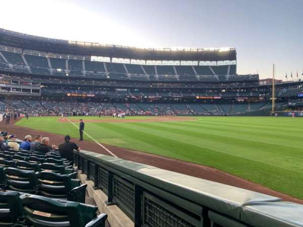 T-Mobile Park, section: 112, row: 10, seat: 1