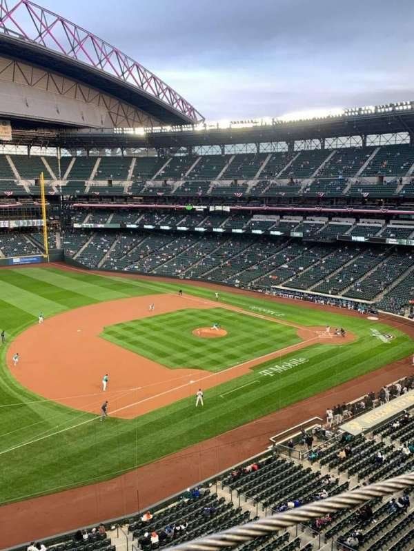 T-Mobile Park, section: 342, row: 1, seat: 13